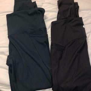 90Degree Heat Leggings bundle of two